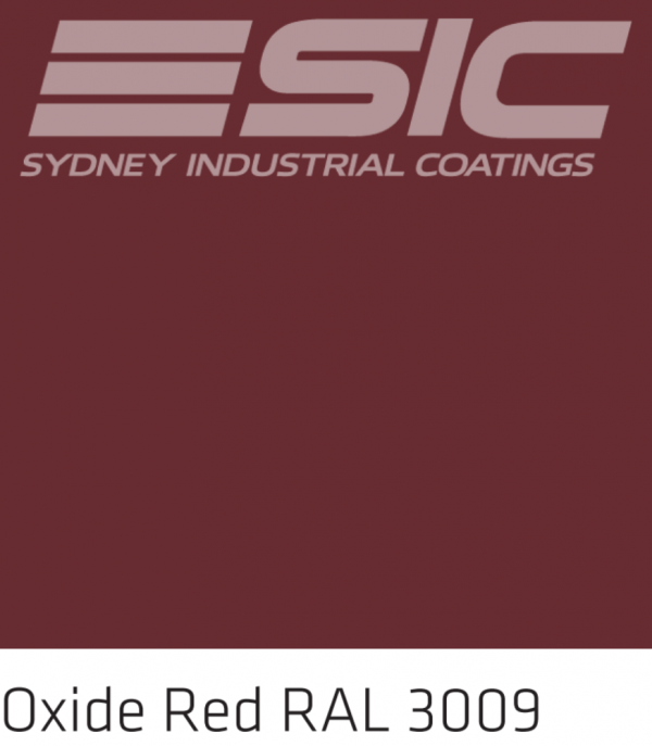 Colour Oxide Red in Sika's Epoxy Colours