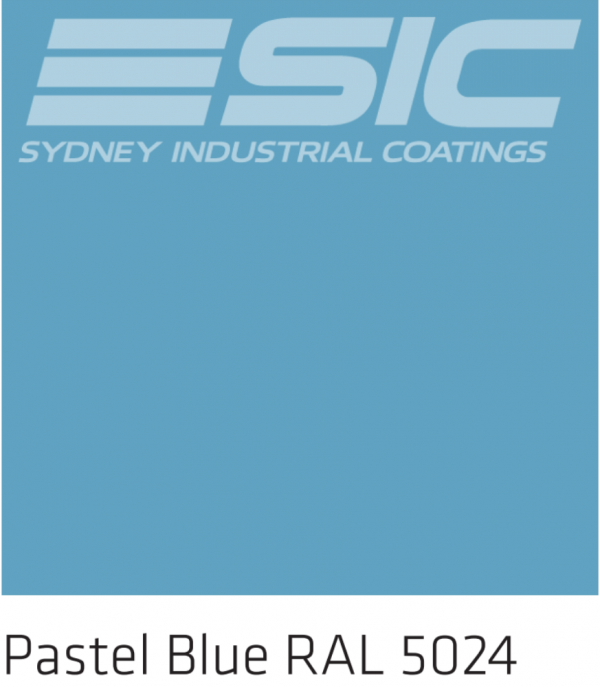 Colour Pastel Blue in Sika's Epoxy Colours