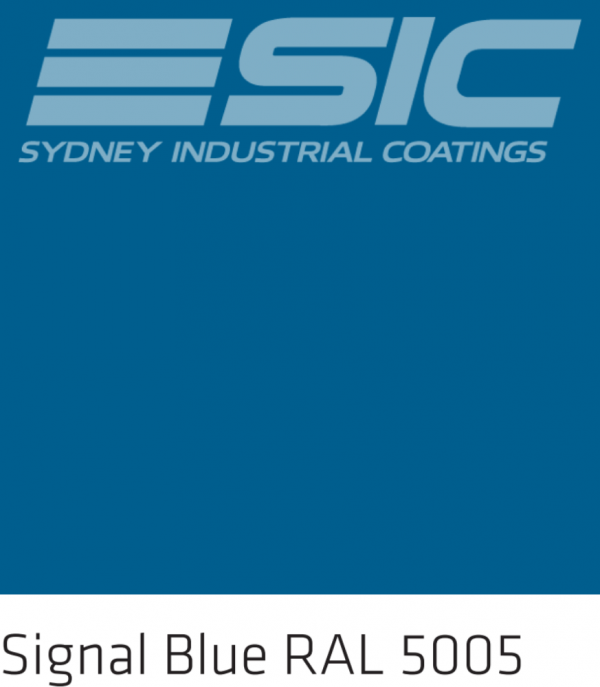 Colour Signal Blue in Sika's Epoxy Colours
