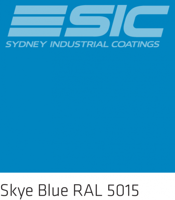 Colour Skye Blue in Sika's Epoxy Colours